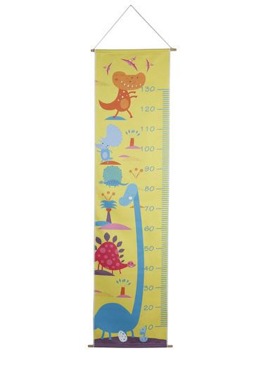 Lunanino Boy Ölçer Yıkanabilir Kumaş Baskı-Dino Renkli